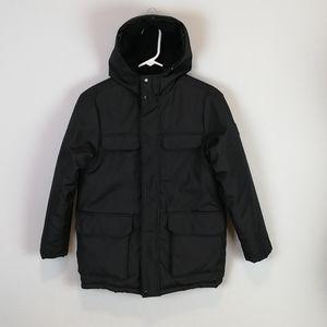 Nautica Zip Up Winter Coat Black Size M (10-12)